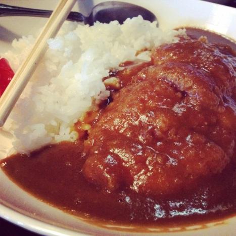 かつかれ (curry katsudon)