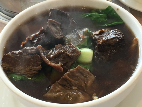Golden BBQ Taiwanese - beef tendon noodle soup