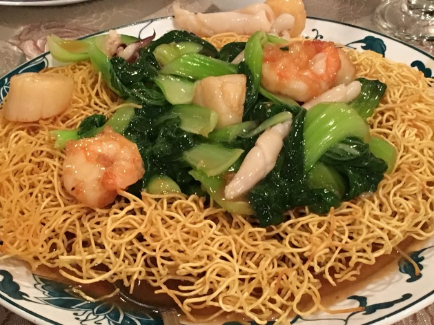 Canton Cooks 2 - seafood pan fried noodle