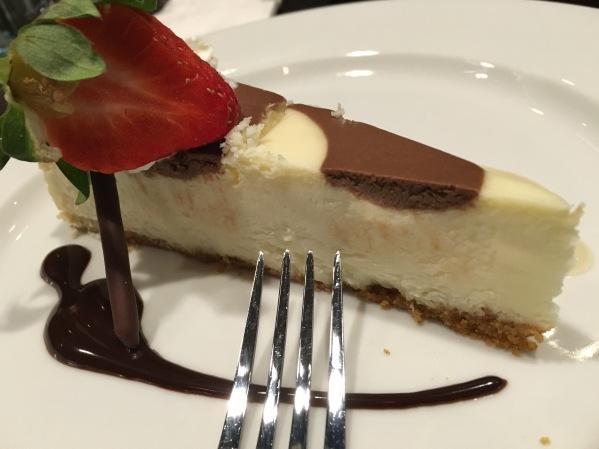 E.M.Bop - complimentary cheesecake