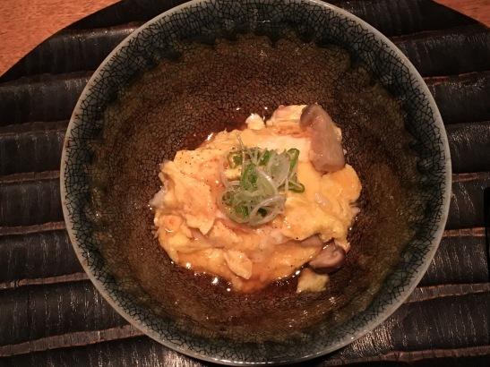 Wakuriya - alaskan snow crab infused with rice and egg