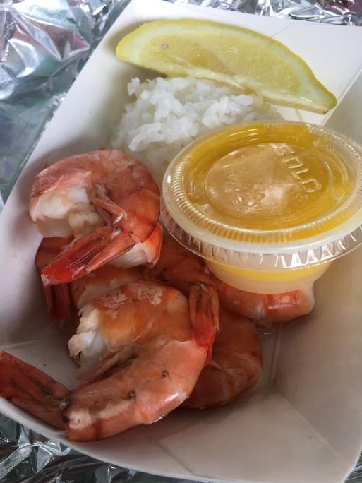 Giovanni's Shrimp Truck - lemon butter